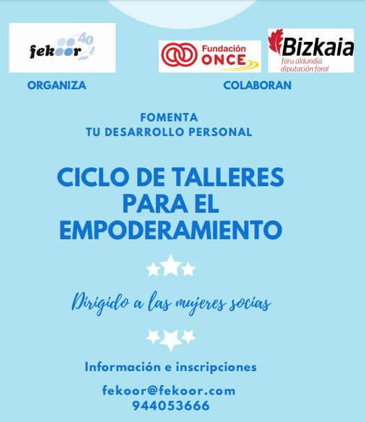 Ciclo de talleres para el empoderamiento en Bilbao Deusto feekor